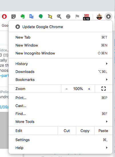 Update Google Chrome in dropdown list.png